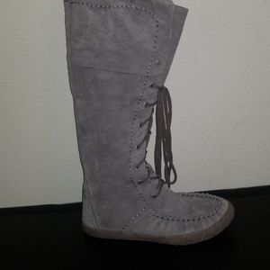 UGG Somaya lace up moccasin boots NEW
